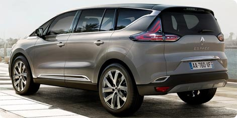 Crossover Renault Espace 2015