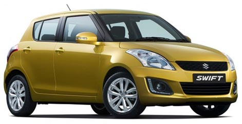 Suzuki Swift facelift 2013/2014
